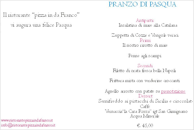 Pranzo di pasqua 2016 a donoratico ristorante pizzeria for Pranzo di pasqua in agriturismo lombardia